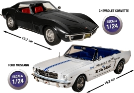 ¡Colecciona los muscle cars más famosos made in USA!